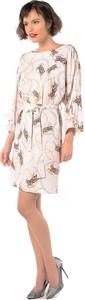 Sukienka Rita Koss z długim rękawem w stylu casual mini
