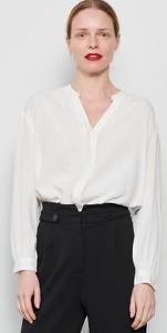 Koszula Reserved w stylu casual z długim rękawem z dekoltem w kształcie litery v