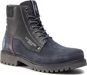 Buty zimowe U.S. Polo sznurowane