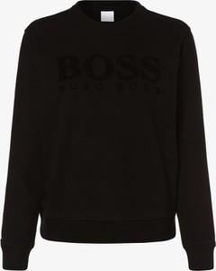 Czarna bluza Boss w stylu casual krótka