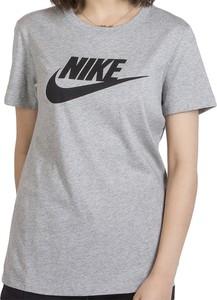 T-shirt Nike w sportowym stylu z krótkim rękawem z bawełny