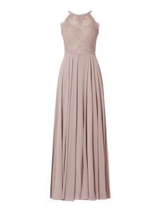 Sukienka Luxuar z satyny bez rękawów