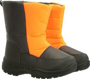 Buty dziecięce zimowe Mountain Warehouse dla chłopców z polaru