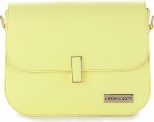 Żółta torebka VITTORIA GOTTI mała
