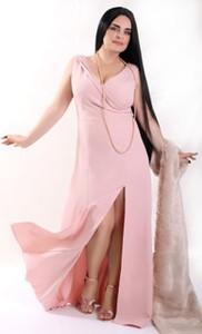 Sukienka Oscar Fashion kopertowa maxi