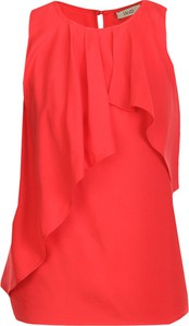 Czerwona bluzka Liu-Jo bez rękawów