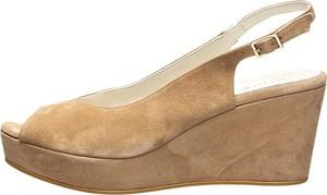 Sandały Otto Kern ze skóry