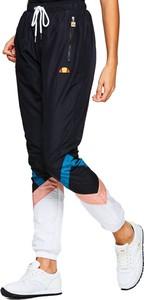 Czarne spodnie sportowe Ellesse w sportowym stylu