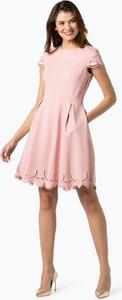 Sukienka Marie Lund midi z krótkim rękawem