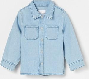 Niebieska koszula dziecięca Reserved dla dziewczynek