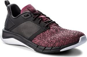 Bordowe buty sportowe Reebok