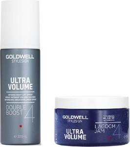 Goldwell Zestaw nadający objętość | StyleSign Ultra Volume Double Boost - spray 200ml, StyleSign Volume Lagoom Jam - żel 150ml - Wysyłka w 24H!