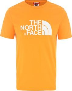 T-shirt The North Face z dżerseju z krótkim rękawem