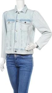 Niebieska kurtka Vero Moda w stylu casual krótka