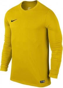 Żółta koszulka z długim rękawem Nike