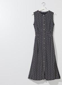 Sukienka Mohito szmizjerka bez rękawów