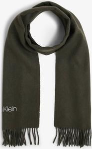 Zielony szal męski Calvin Klein