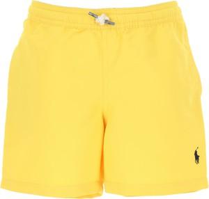 Żółte kąpielówki Ralph Lauren