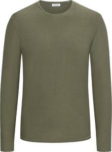 Zielony sweter Jack & Jones z bawełny