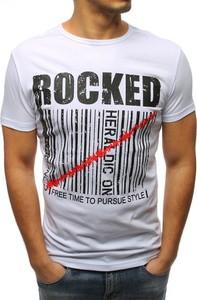T-shirt Dstreet w młodzieżowym stylu z bawełny