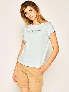 T-shirt Tommy Hilfiger z okrągłym dekoltem