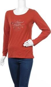 Czerwona bluzka Mayflower z długim rękawem