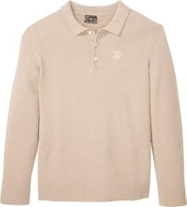 Sweter bonprix z wełny w stylu casual