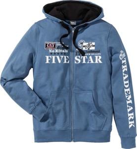 Niebieska bluza bonprix bpc bonprix collection