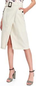 5592a81d6f spódnica lniana długa - stylowo i modnie z Allani