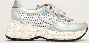 Buty sportowe Badura na platformie sznurowane