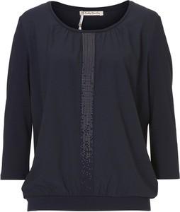 Czarna bluzka Betty Barclay z długim rękawem w stylu casual