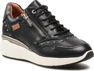 Czarne buty sportowe PIKOLINOS