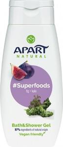 Apart Natural, #Superfoods, żel pod prysznic, Figa i Jarmuż, 300 ml
