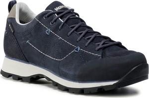 Buty sportowe Meindl z płaską podeszwą sznurowane