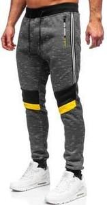 Spodnie sportowe Denley z bawełny w sportowym stylu