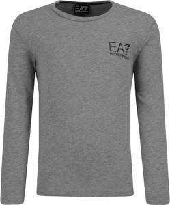 Bluzka dziecięca EA7 Emporio Armani z długim rękawem