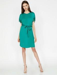 Sukienka Koton mini z krótkim rękawem