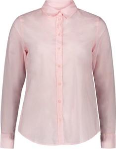 Różowa koszula United Colors Of Benetton z bawełny