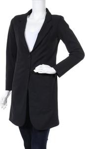 Czarny płaszcz D'etoiles Casiope w stylu casual