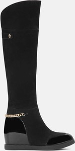 Czarne kozaki Kazar
