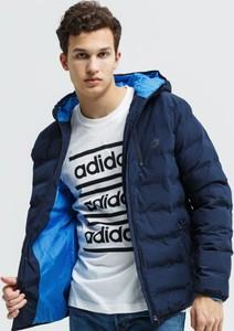 Niebieska kurtka Lotto w stylu casual