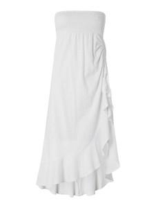 Sukienka Banana Moon z bawełny bez rękawów z okrągłym dekoltem