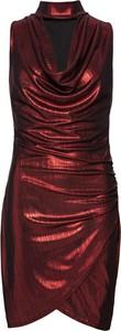 Sukienka bonprix BODYFLIRT boutique z dekoltem woda bez rękawów