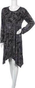 Sukienka Aller Simplement mini z okrągłym dekoltem