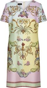 Sukienka Poza mini w stylu casual z bawełny