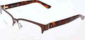 amazon.de BOSS Hugo damskie okulary Hugo pomarańczowe oprawki okularów, brązowe, 53