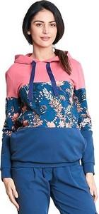 Happymum Multikolorowa bluza ciążowa Meadow