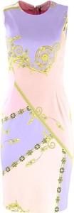 Sukienka Versace mini bez rękawów