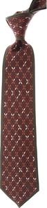 Krawat Mila Schon z jedwabiu