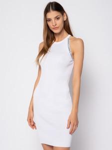 Sukienka Armani Exchange midi prosta